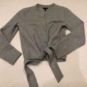JCrew Cozy Grey Sweater
